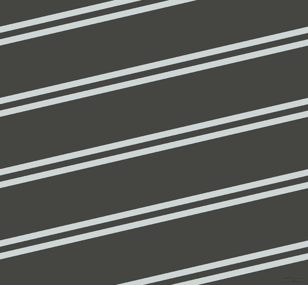 13 degree angles dual stripe lines, 12 pixel lines width, 12 and 99 pixels line spacing, Zumthor and Tuatara dual two line striped seamless tileable