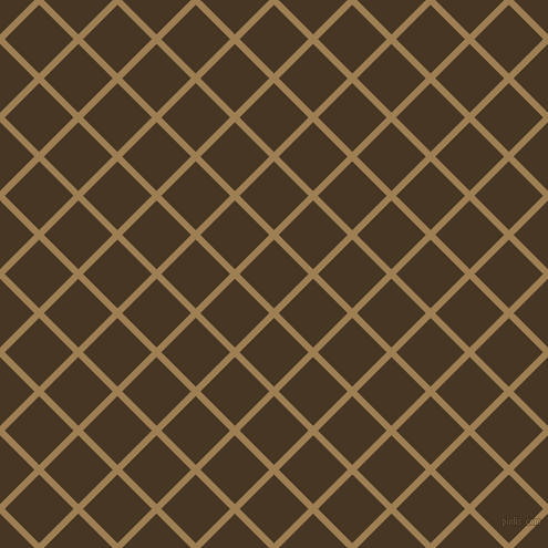 45/135 degree angle diagonal checkered chequered lines, 6 pixel line width, 44 pixel square size, plaid checkered seamless tileable