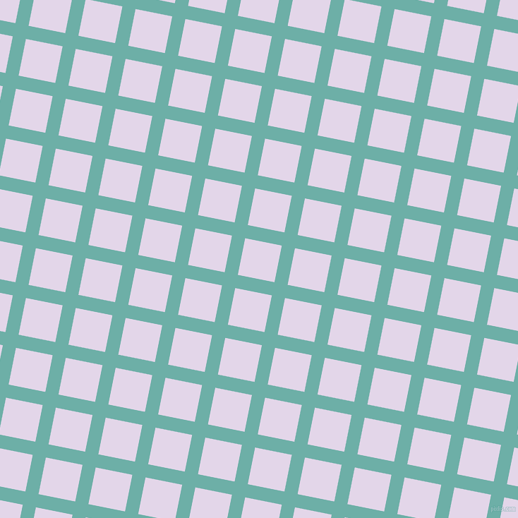 79/169 degree angle diagonal checkered chequered lines, 19 pixel lines width, 53 pixel square size, plaid checkered seamless tileable