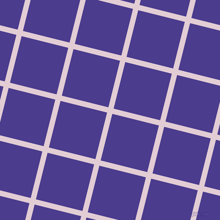 76/166 degree angle diagonal checkered chequered lines, 11 pixel line width, 98 pixel square size, plaid checkered seamless tileable