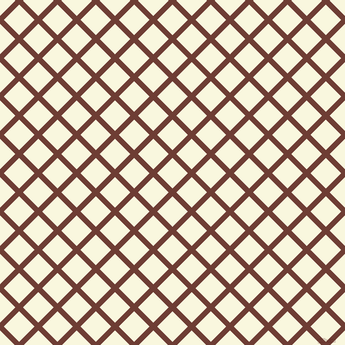 45/135 degree angle diagonal checkered chequered lines, 11 pixel line width, 44 pixel square size, plaid checkered seamless tileable