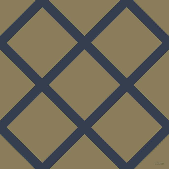 45/135 degree angle diagonal checkered chequered lines, 38 pixel line width, 205 pixel square size, plaid checkered seamless tileable