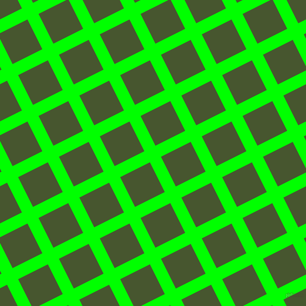 27/117 degree angle diagonal checkered chequered lines, 25 pixel lines width, 67 pixel square size, plaid checkered seamless tileable