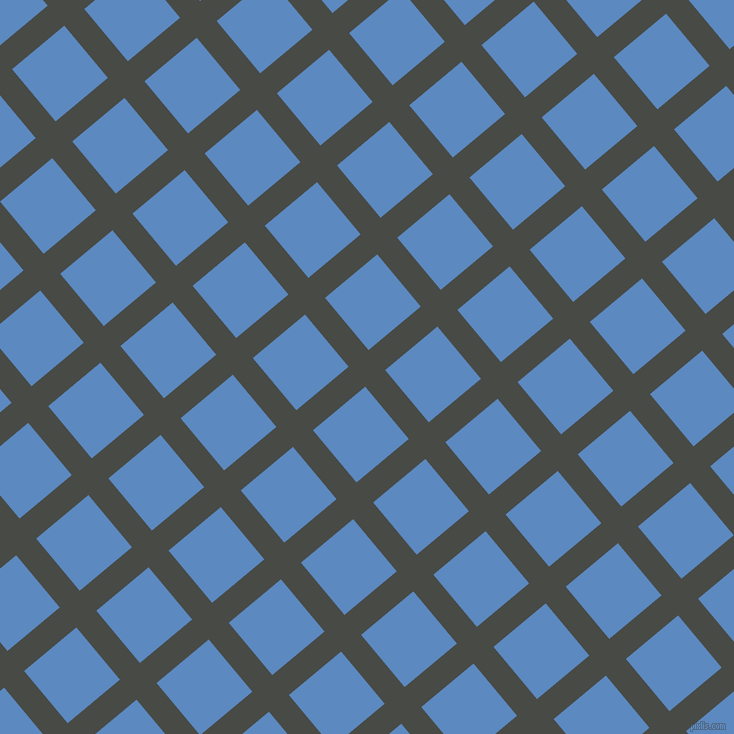 40/130 degree angle diagonal checkered chequered lines, 26 pixel lines width, 68 pixel square size, plaid checkered seamless tileable
