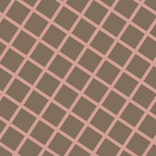 56/146 degree angle diagonal checkered chequered lines, 11 pixel line width, 61 pixel square size, plaid checkered seamless tileable
