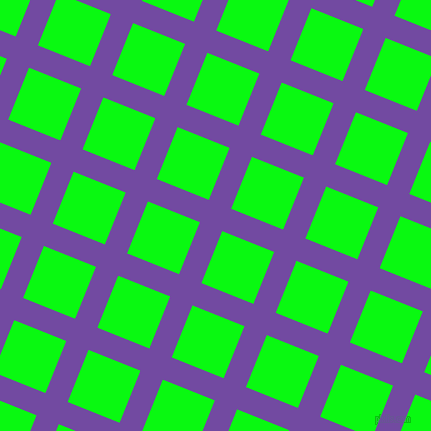68/158 degree angle diagonal checkered chequered lines, 24 pixel line width, 56 pixel square size, plaid checkered seamless tileable