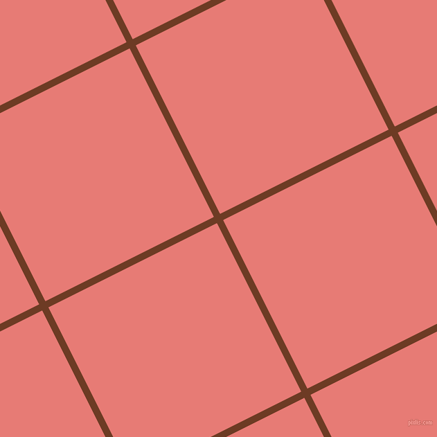 27/117 degree angle diagonal checkered chequered lines, 10 pixel lines width, 272 pixel square size, plaid checkered seamless tileable