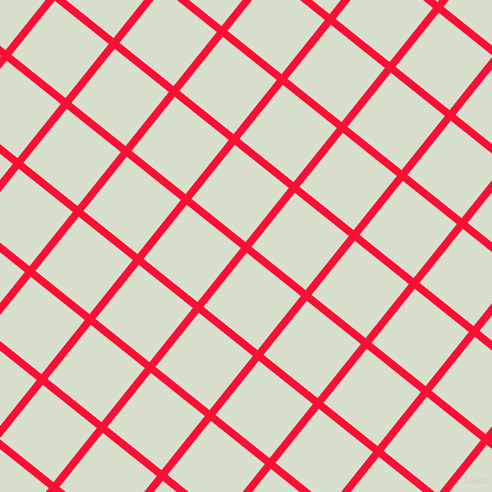51/141 degree angle diagonal checkered chequered lines, 11 pixel line width, 101 pixel square size, plaid checkered seamless tileable