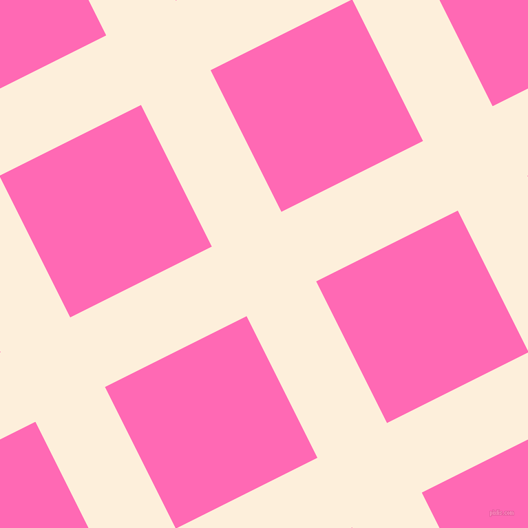 27/117 degree angle diagonal checkered chequered lines, 113 pixel line width, 230 pixel square size, plaid checkered seamless tileable
