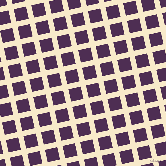 13/103 degree angle diagonal checkered chequered lines, 18 pixel lines width, 42 pixel square size, plaid checkered seamless tileable