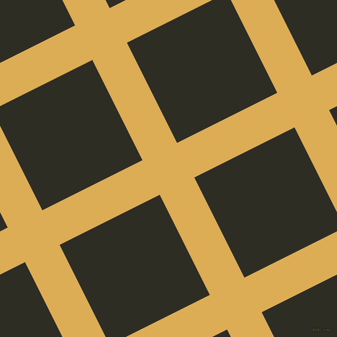 27/117 degree angle diagonal checkered chequered lines, 79 pixel line width, 229 pixel square size, plaid checkered seamless tileable