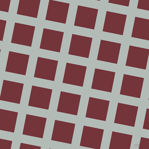 79/169 degree angle diagonal checkered chequered lines, 29 pixel line width, 69 pixel square size, plaid checkered seamless tileable