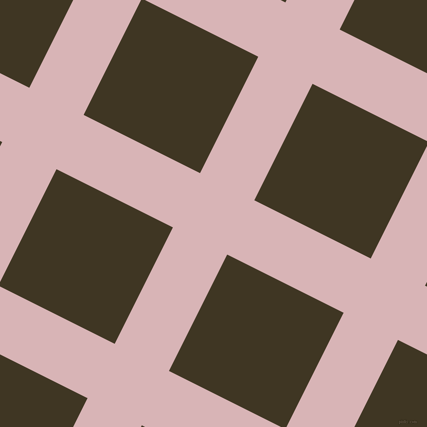 63/153 degree angle diagonal checkered chequered lines, 118 pixel lines width, 253 pixel square size, plaid checkered seamless tileable