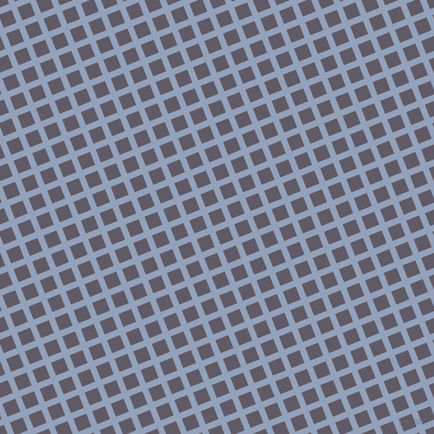 22/112 degree angle diagonal checkered chequered lines, 9 pixel lines width, 20 pixel square size, plaid checkered seamless tileable