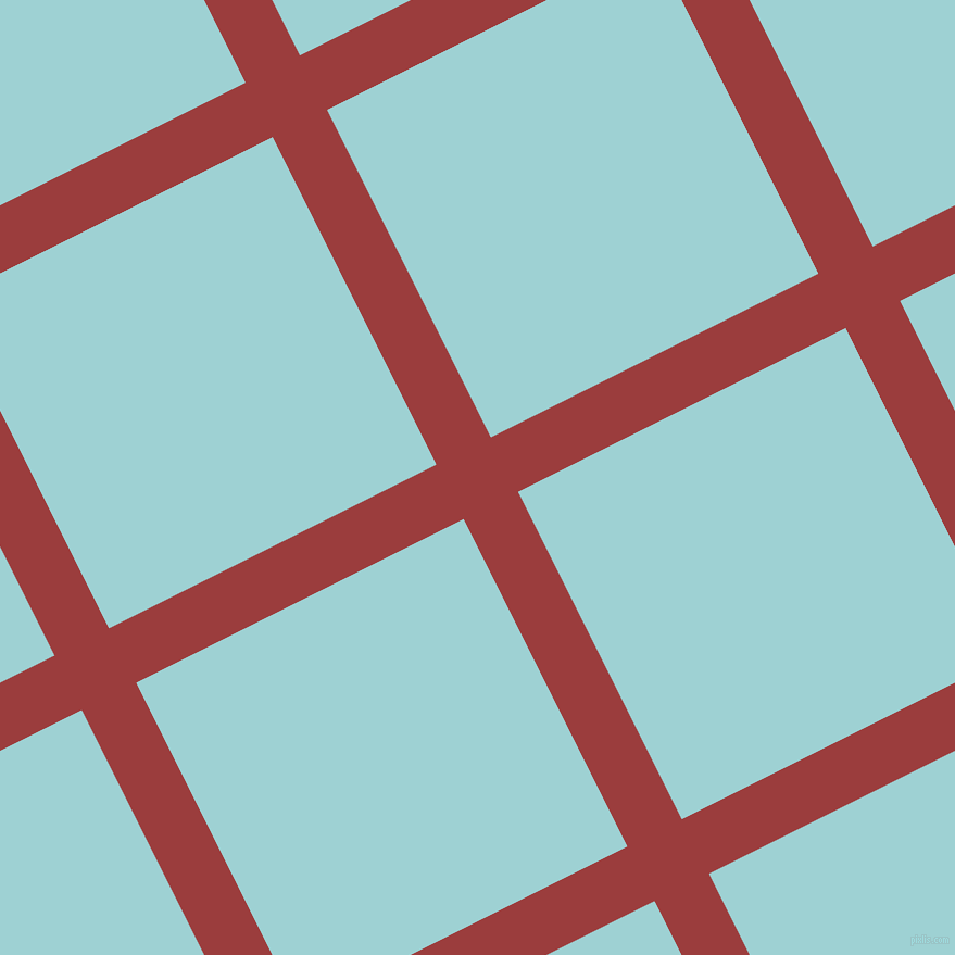 27/117 degree angle diagonal checkered chequered lines, 56 pixel lines width, 337 pixel square size, plaid checkered seamless tileable