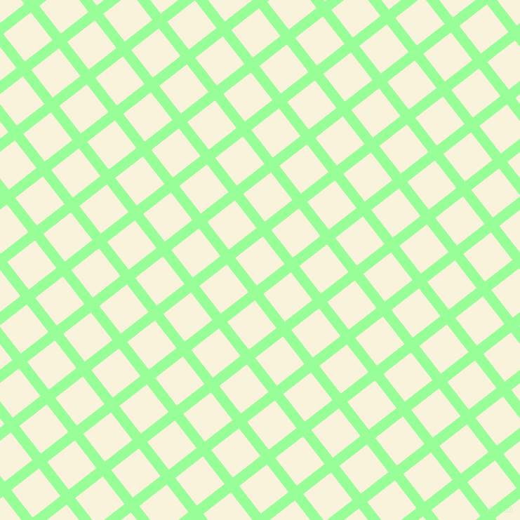 38/128 degree angle diagonal checkered chequered lines, 15 pixel line width, 50 pixel square size, plaid checkered seamless tileable
