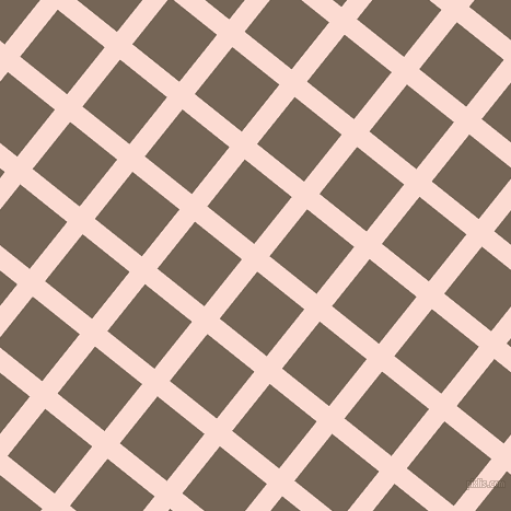 51/141 degree angle diagonal checkered chequered lines, 18 pixel lines width, 55 pixel square size, plaid checkered seamless tileable