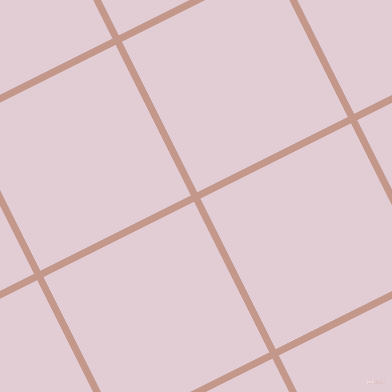 27/117 degree angle diagonal checkered chequered lines, 14 pixel lines width, 335 pixel square size, plaid checkered seamless tileable