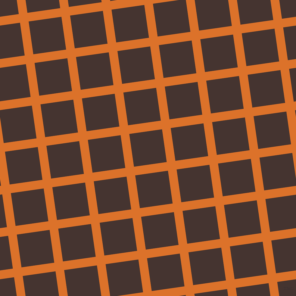 8/98 degree angle diagonal checkered chequered lines, 29 pixel lines width, 110 pixel square size, plaid checkered seamless tileable