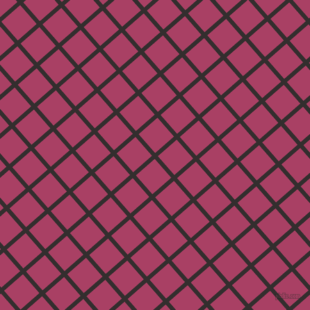 41/131 degree angle diagonal checkered chequered lines, 6 pixel line width, 36 pixel square size, plaid checkered seamless tileable
