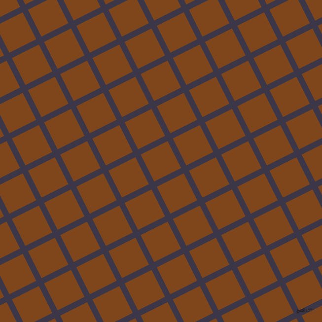 27/117 degree angle diagonal checkered chequered lines, 12 pixel lines width, 61 pixel square size, plaid checkered seamless tileable