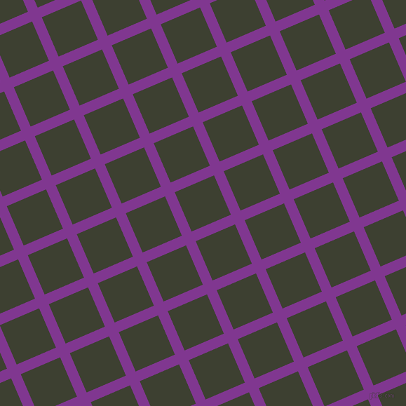 23/113 degree angle diagonal checkered chequered lines, 15 pixel line width, 61 pixel square size, plaid checkered seamless tileable