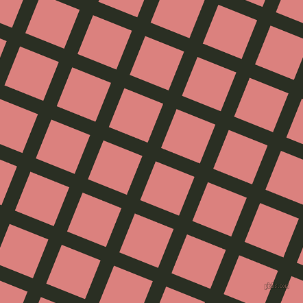 68/158 degree angle diagonal checkered chequered lines, 21 pixel line width, 61 pixel square size, plaid checkered seamless tileable