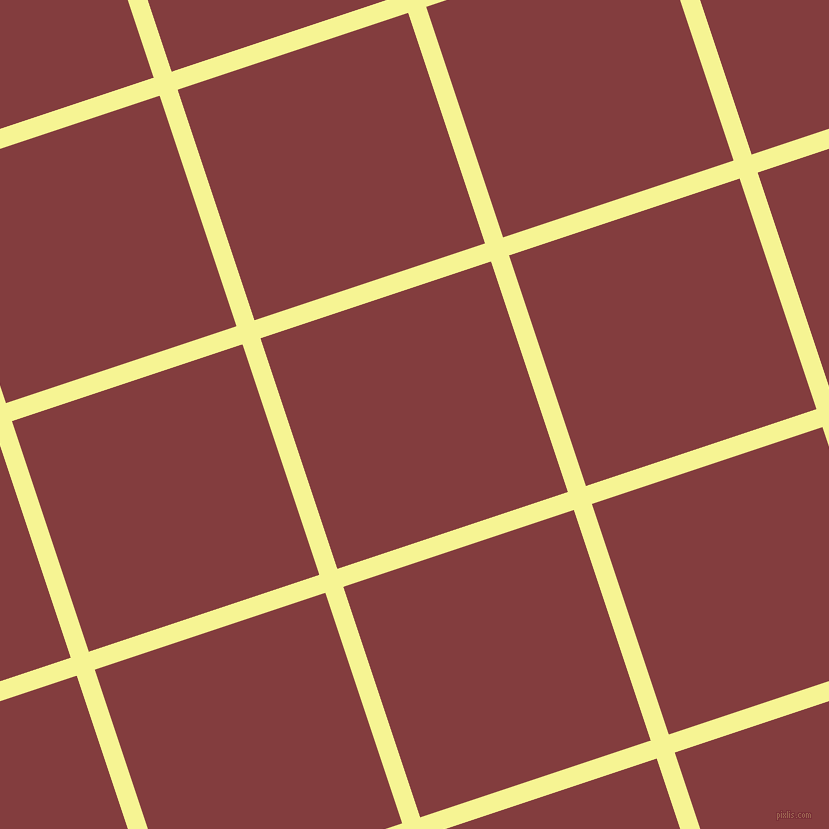 18/108 degree angle diagonal checkered chequered lines, 19 pixel line width, 243 pixel square size, plaid checkered seamless tileable