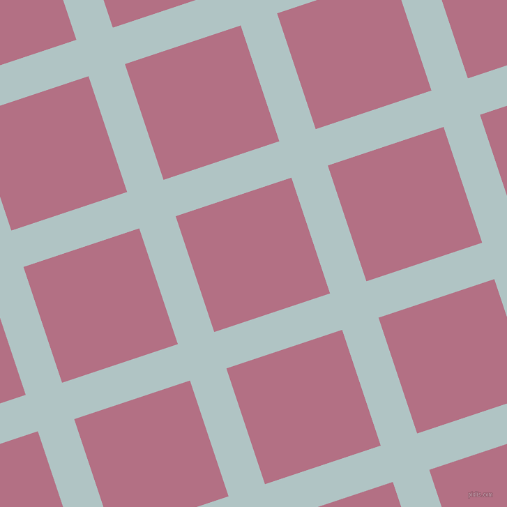 18/108 degree angle diagonal checkered chequered lines, 55 pixel line width, 175 pixel square size, plaid checkered seamless tileable