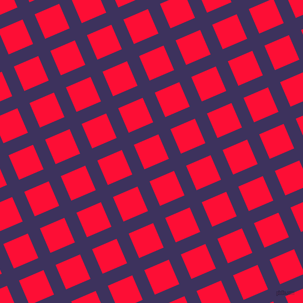 23/113 degree angle diagonal checkered chequered lines, 26 pixel lines width, 53 pixel square size, plaid checkered seamless tileable