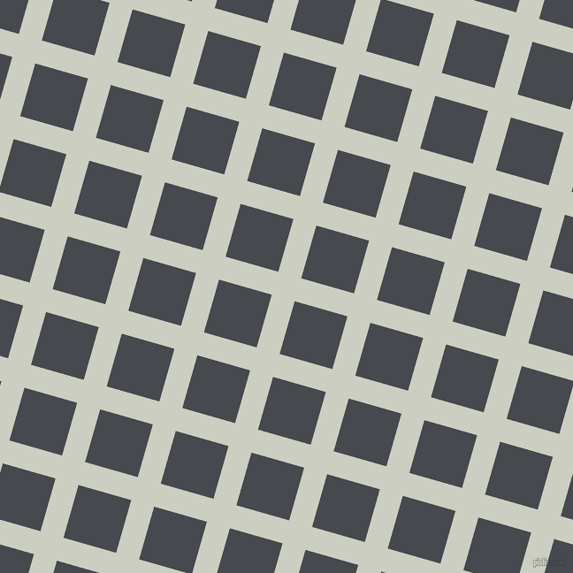 74/164 degree angle diagonal checkered chequered lines, 27 pixel lines width, 62 pixel square size, plaid checkered seamless tileable