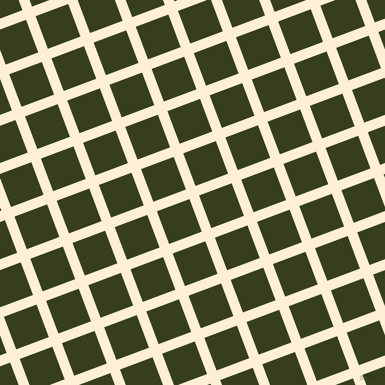 21/111 degree angle diagonal checkered chequered lines, 20 pixel lines width, 68 pixel square size, plaid checkered seamless tileable