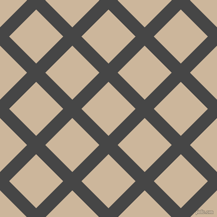 45/135 degree angle diagonal checkered chequered lines, 26 pixel lines width, 77 pixel square size, plaid checkered seamless tileable