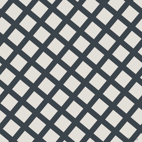 50/140 degree angle diagonal checkered chequered lines, 18 pixel lines width, 42 pixel square size, plaid checkered seamless tileable