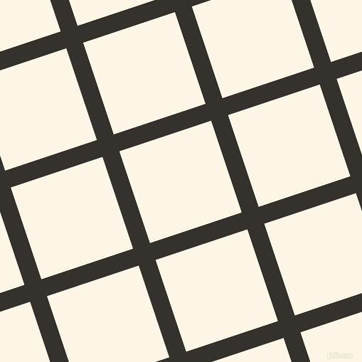 18/108 degree angle diagonal checkered chequered lines, 25 pixel lines width, 136 pixel square size, Acadia and Old Lace plaid checkered seamless tileable