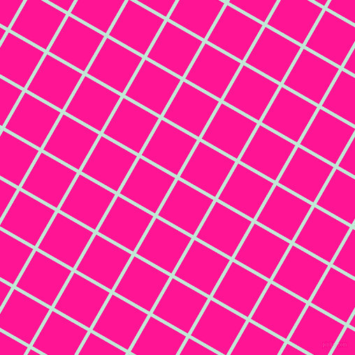 60/150 degree angle diagonal checkered chequered lines, 5 pixel line width, 58 pixel square size, Aero Blue and Deep Pink plaid checkered seamless tileable