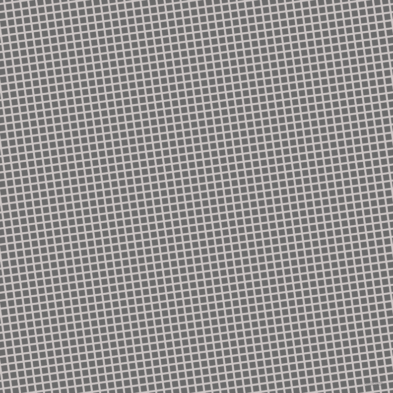 8/98 degree angle diagonal checkered chequered lines, 4 pixel lines width, 12 pixel square size, Alto and Dim Gray plaid checkered seamless tileable