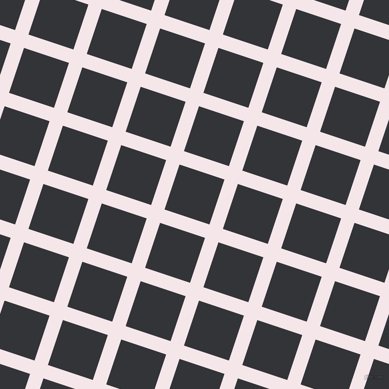 72/162 degree angle diagonal checkered chequered lines, 28 pixel line width, 94 pixel square size, Amour and Ebony Clay plaid checkered seamless tileable
