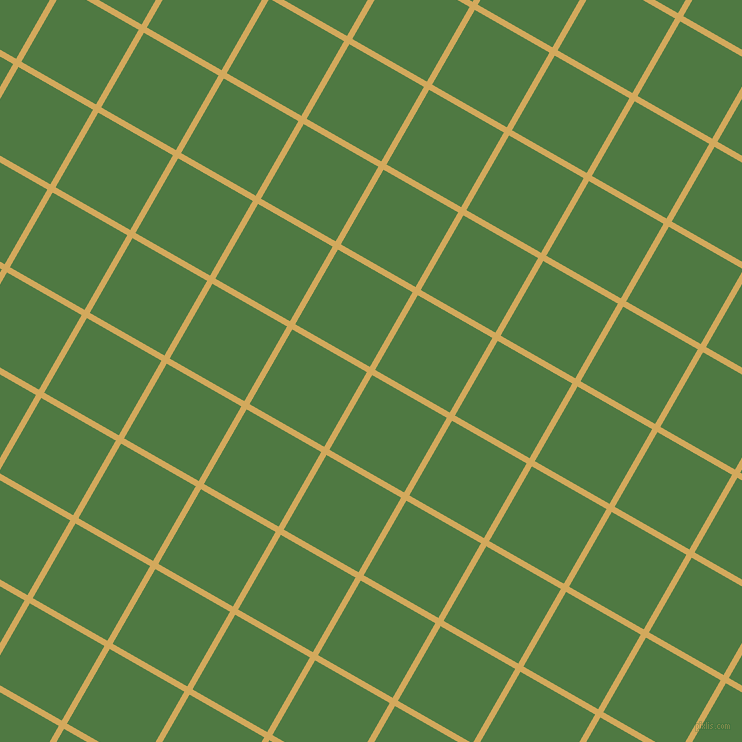 60/150 degree angle diagonal checkered chequered lines, 6 pixel line width, 86 pixel square size, Apache and Fern Green plaid checkered seamless tileable