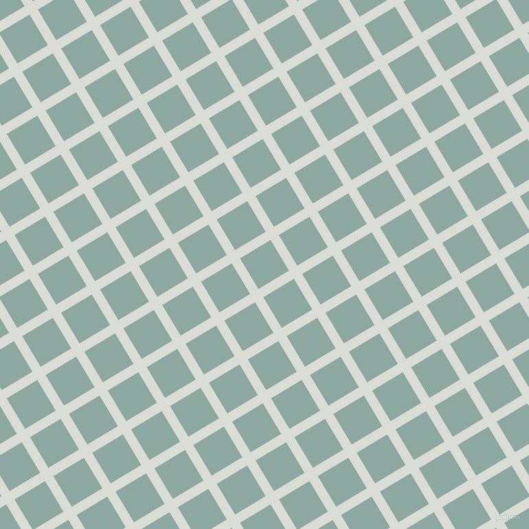 31/121 degree angle diagonal checkered chequered lines, 14 pixel line width, 52 pixel square size, Aqua Haze and Cascade plaid checkered seamless tileable