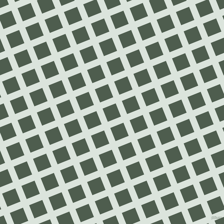22/112 degree angle diagonal checkered chequered lines, 22 pixel line width, 47 pixel square size, Aqua Squeeze and Nandor plaid checkered seamless tileable
