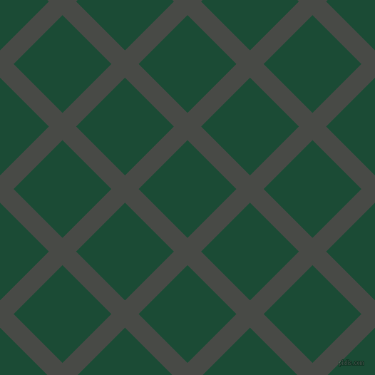 45/135 degree angle diagonal checkered chequered lines, 27 pixel lines width, 97 pixel square size, Armadillo and County Green plaid checkered seamless tileable
