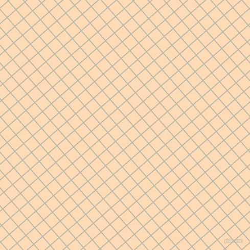 41/131 degree angle diagonal checkered chequered lines, 2 pixel line width, 21 pixel square size, Ash and Sandy Beach plaid checkered seamless tileable