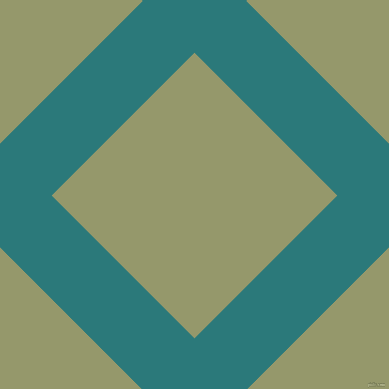 45/135 degree angle diagonal checkered chequered lines, 151 pixel line width, 417 pixel square size, Atoll and Avocado plaid checkered seamless tileable