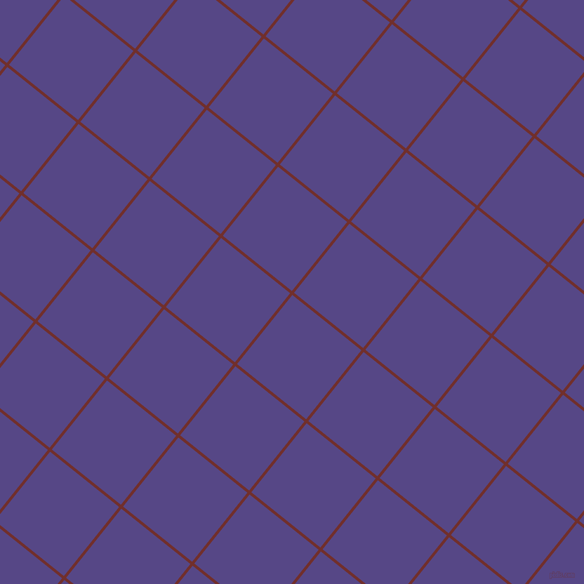 51/141 degree angle diagonal checkered chequered lines, 4 pixel lines width, 126 pixel square size, Auburn and Gigas plaid checkered seamless tileable