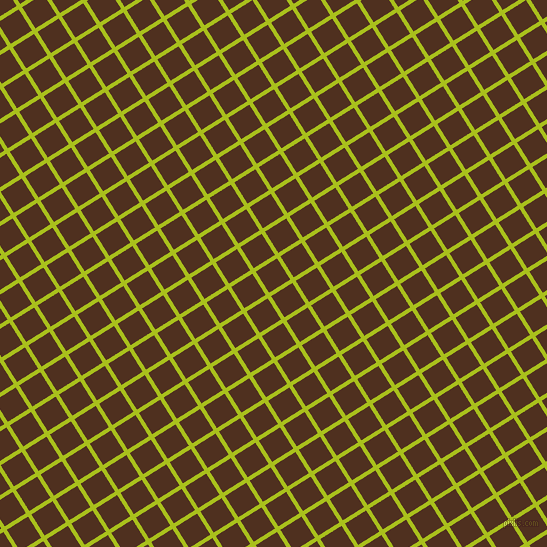 32/122 degree angle diagonal checkered chequered lines, 4 pixel lines width, 25 pixel square size, Bahia and Indian Tan plaid checkered seamless tileable