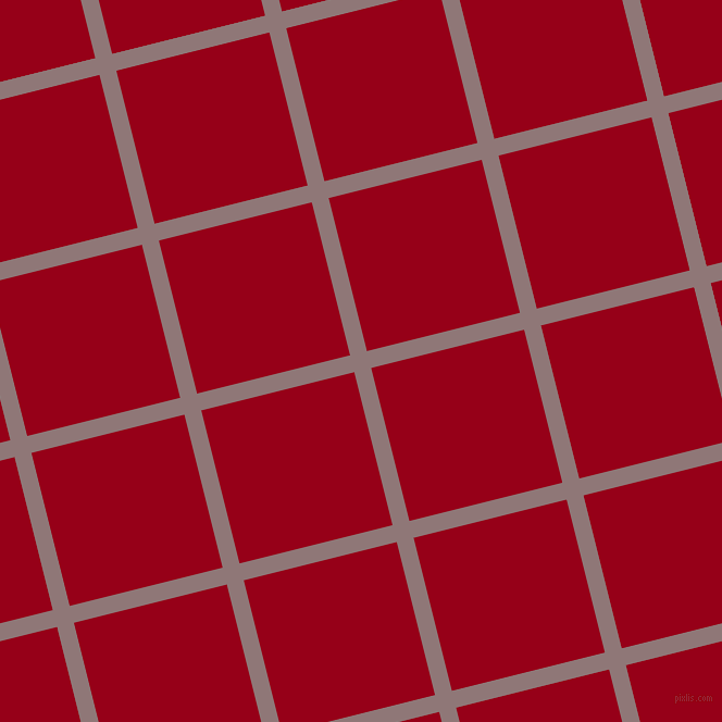 14/104 degree angle diagonal checkered chequered lines, 16 pixel line width, 145 pixel square size, Bazaar and Carmine plaid checkered seamless tileable