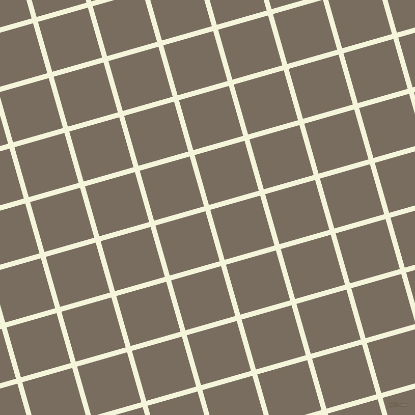 16/106 degree angle diagonal checkered chequered lines, 10 pixel line width, 102 pixel square size, Beige and Sandstone plaid checkered seamless tileable