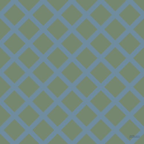 45/135 degree angle diagonal checkered chequered lines, 17 pixel lines width, 54 pixel square size, Bermuda Grey and Xanadu plaid checkered seamless tileable