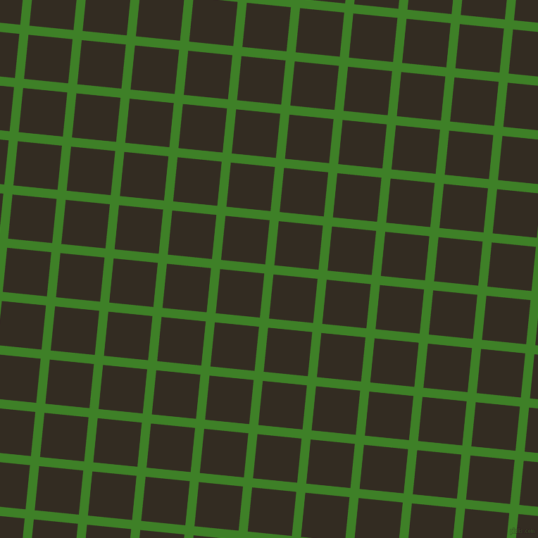 84/174 degree angle diagonal checkered chequered lines, 13 pixel lines width, 63 pixel square size, Bilbao and Black Magic plaid checkered seamless tileable